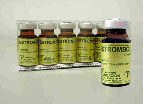 Estrombol (stanozolol 25mg/ml)