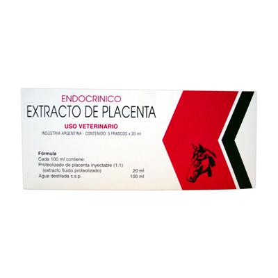 Extracto de placenta