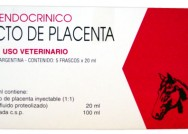 Extracto de placenta